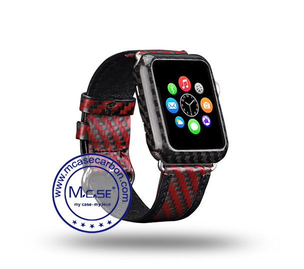 iWatch Series 2 42mm Carbon Fiber Cover