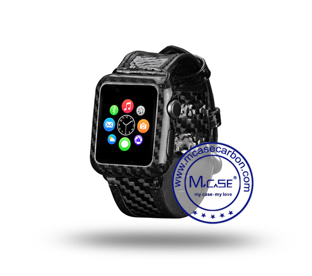 iWatch Series 2 38mm Carbon Fiber Cover