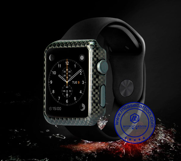 iWatch 38mm Carbon Fiber Cover