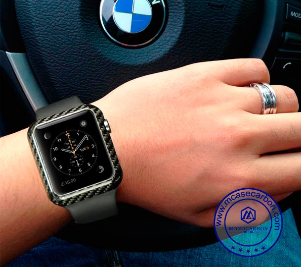 iWatch 42mm Carbon Fiber Cover