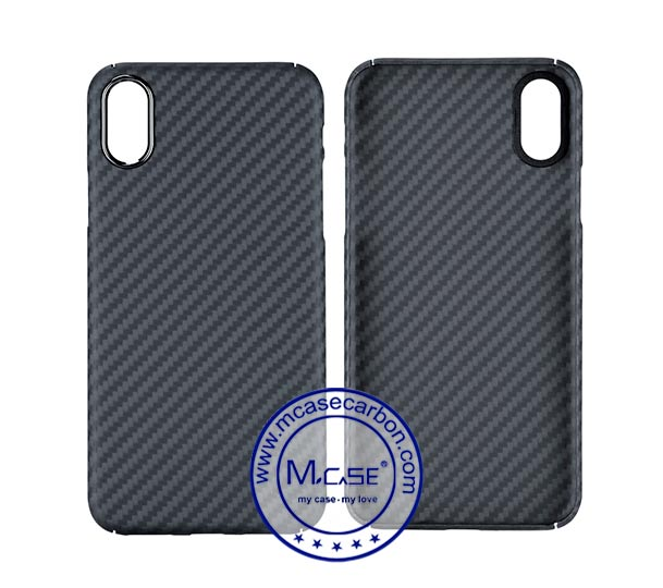 For iPhone X Aramid Fiber Phone Case (4 sides protection)