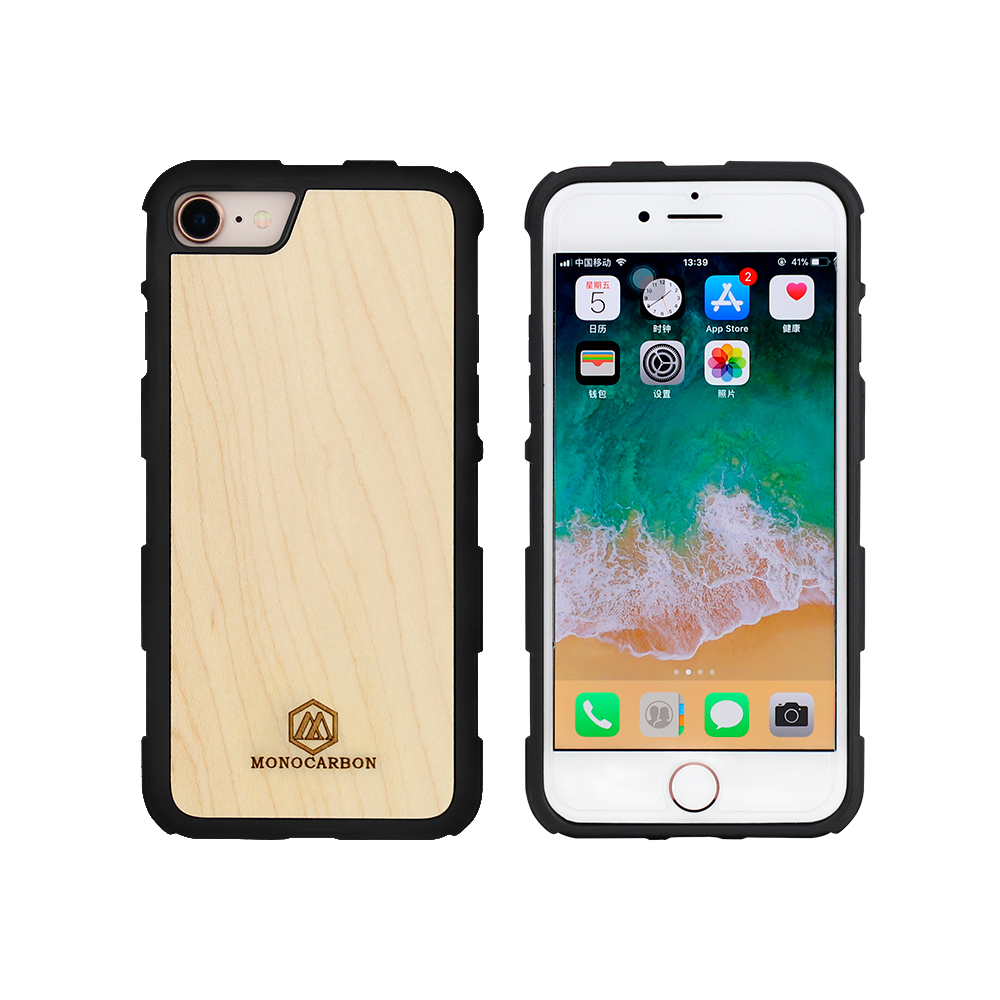 Natural Wooden mobile phone case for iPhone 7 8