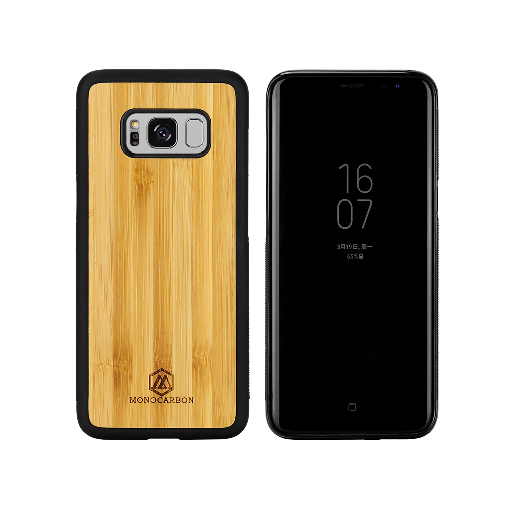 Natural Wooden mobile phone case for Samsung S8