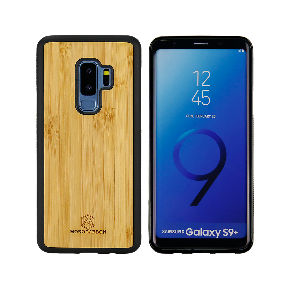 Natural Wooden mobile phone case for Samsung S9 plus
