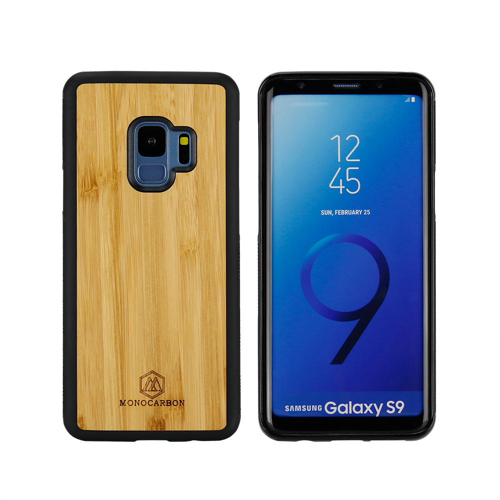 Natural Wooden mobile phone case for Samsung S9