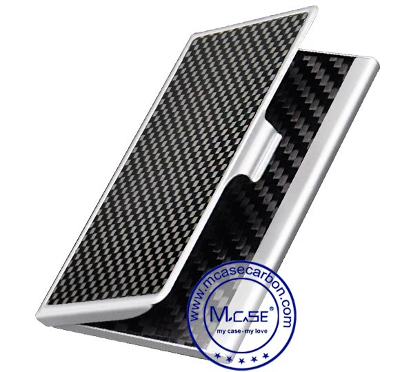 Carbon fiber business card holder colourmoves